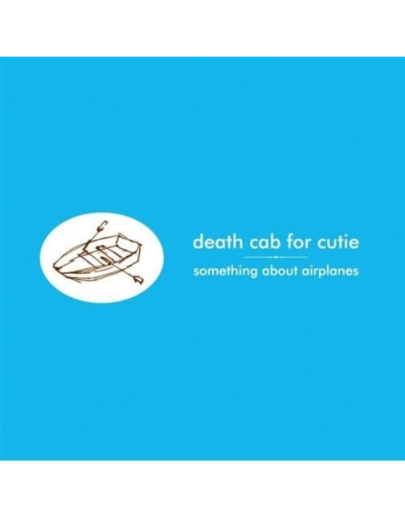 New Vinyl Death Cab For Cutie - Something About Airplanes LP