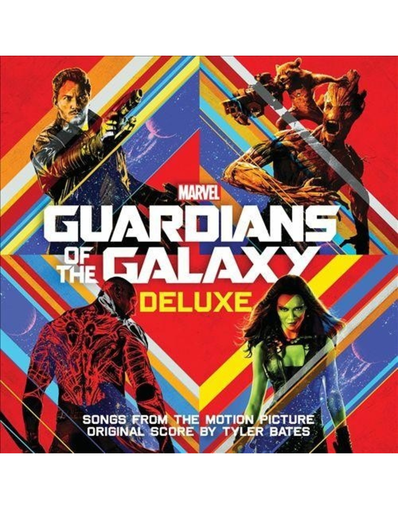 New Vinyl Various - Guardians Of The Galaxy OST Deluxe 2LP