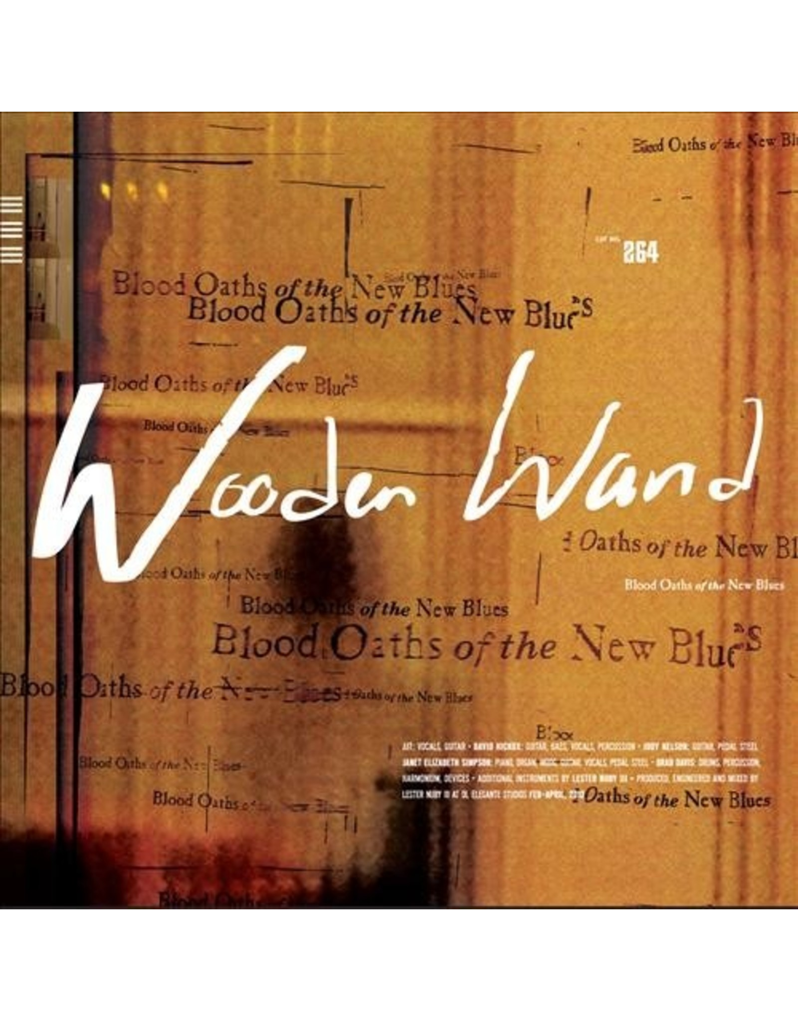 New Vinyl Wooden Wand - Blood Oaths Of The New Blues LP