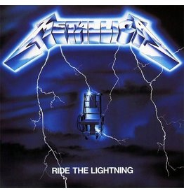 New Vinyl Metallica - Ride The Lightning 2LP