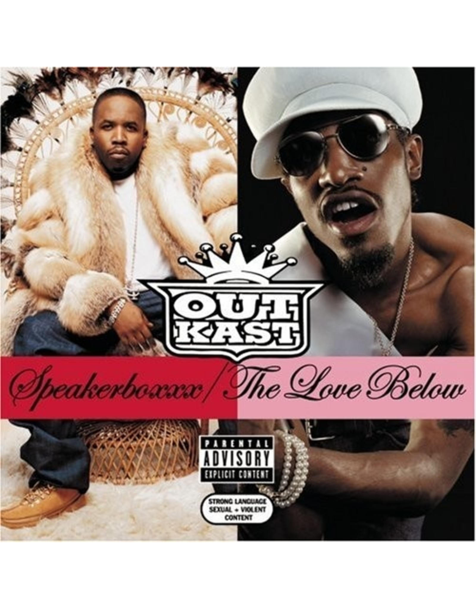 New Vinyl Outkast - Speakerboxxx/The Love Below 4LP