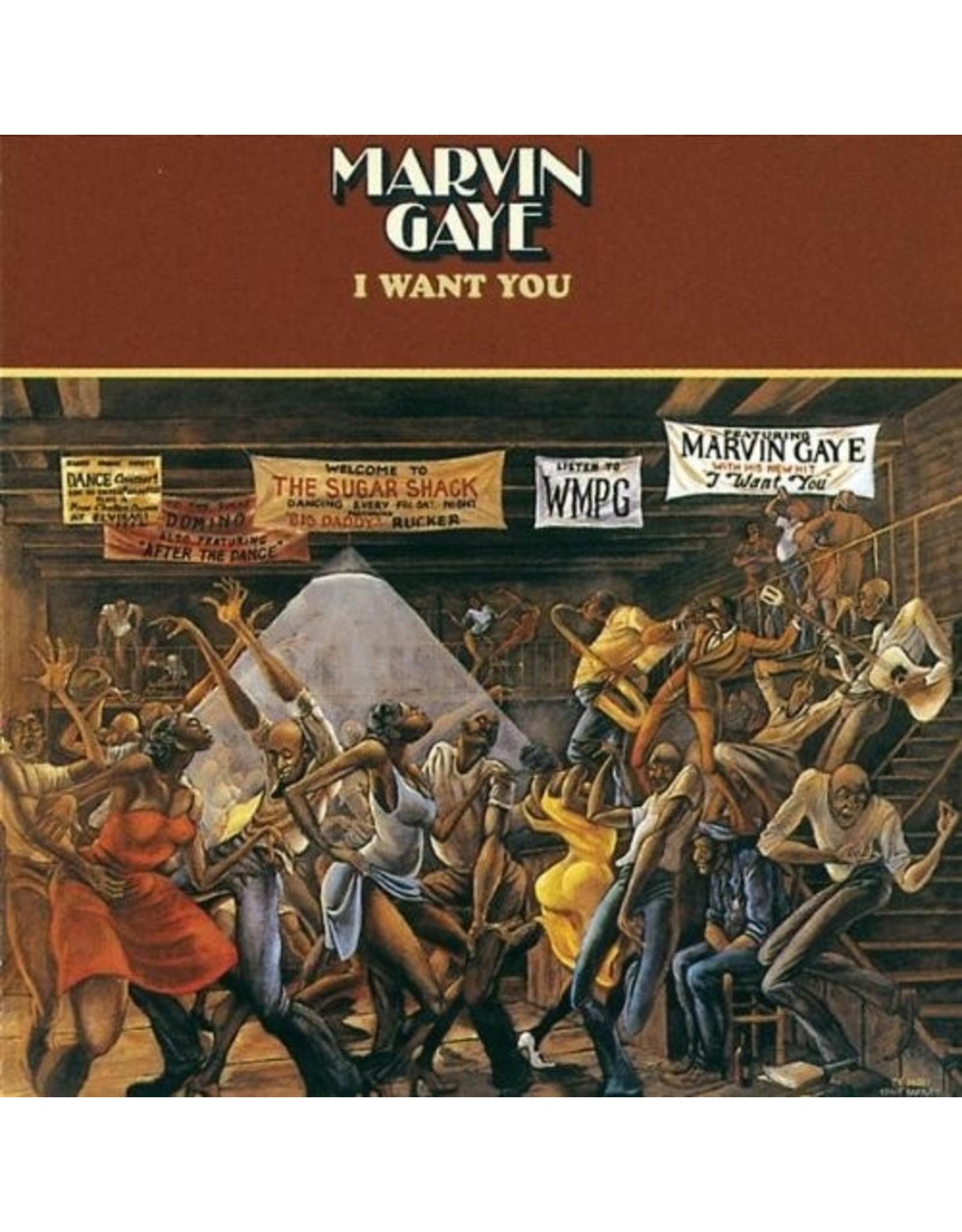 New Vinyl Marvin Gaye - I Want You LP