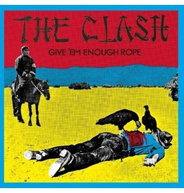 New Vinyl The Clash - Give Em Enough Rope LP