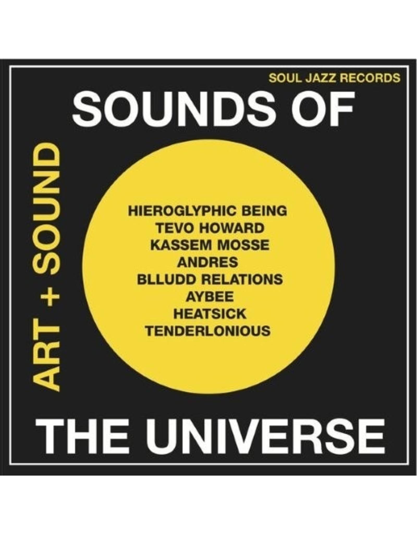 New Vinyl Various - Sounds Of The Universe Art & Sound Record A 2LP