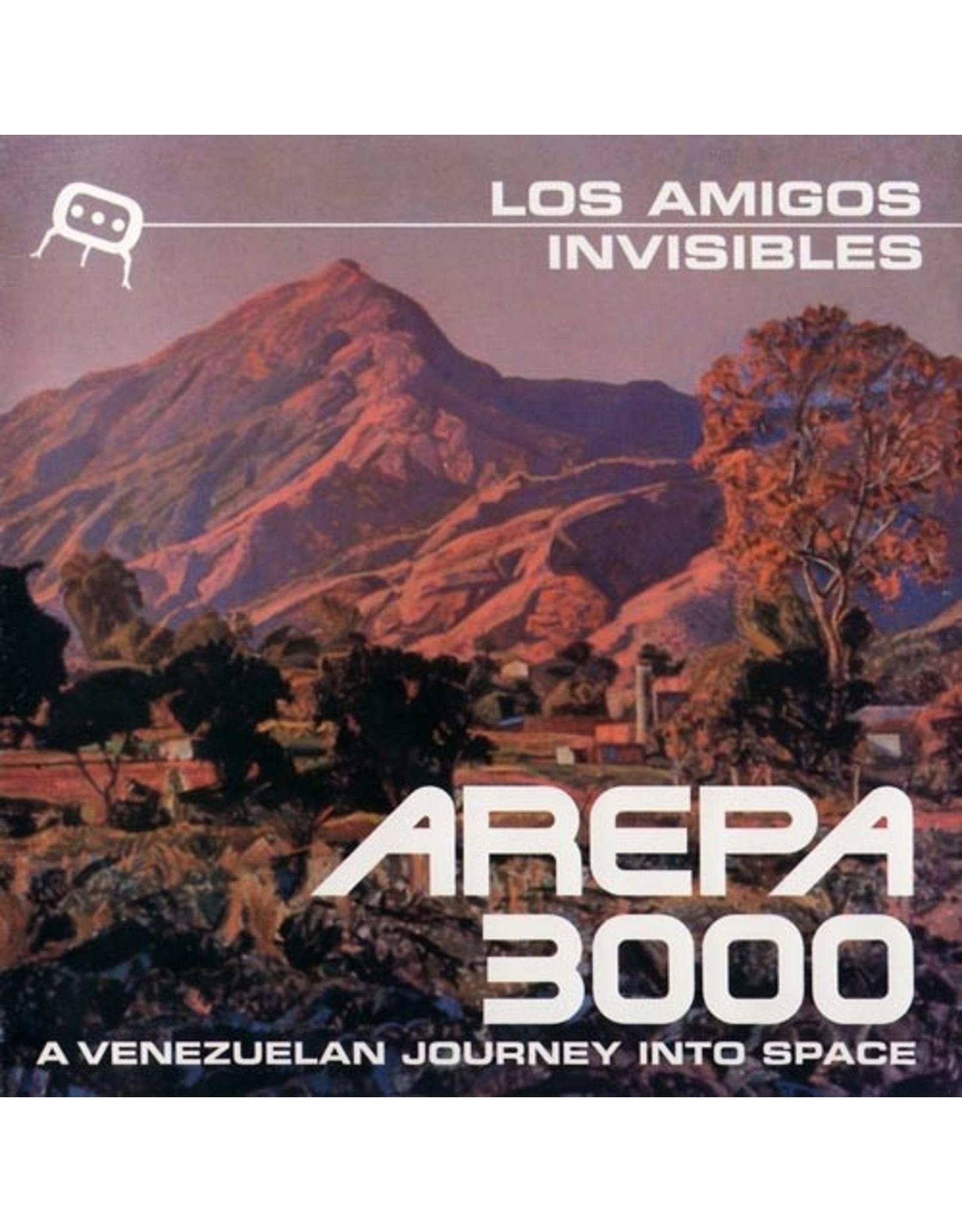 New Vinyl Los Amigos Invisibles - Arepa 3000 2LP