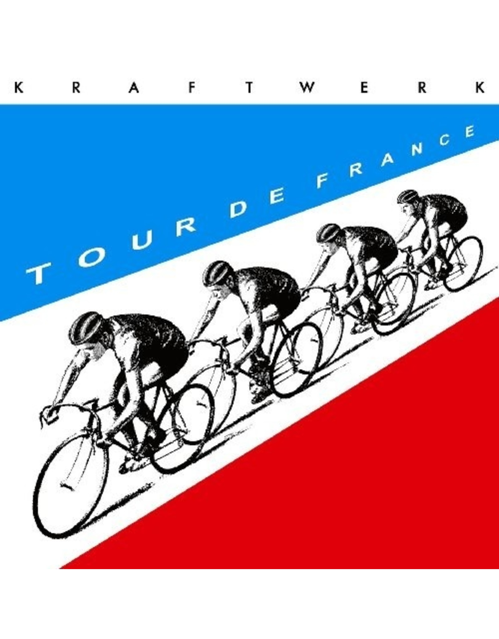 New Vinyl Kraftwerk - Tour De France 2LP