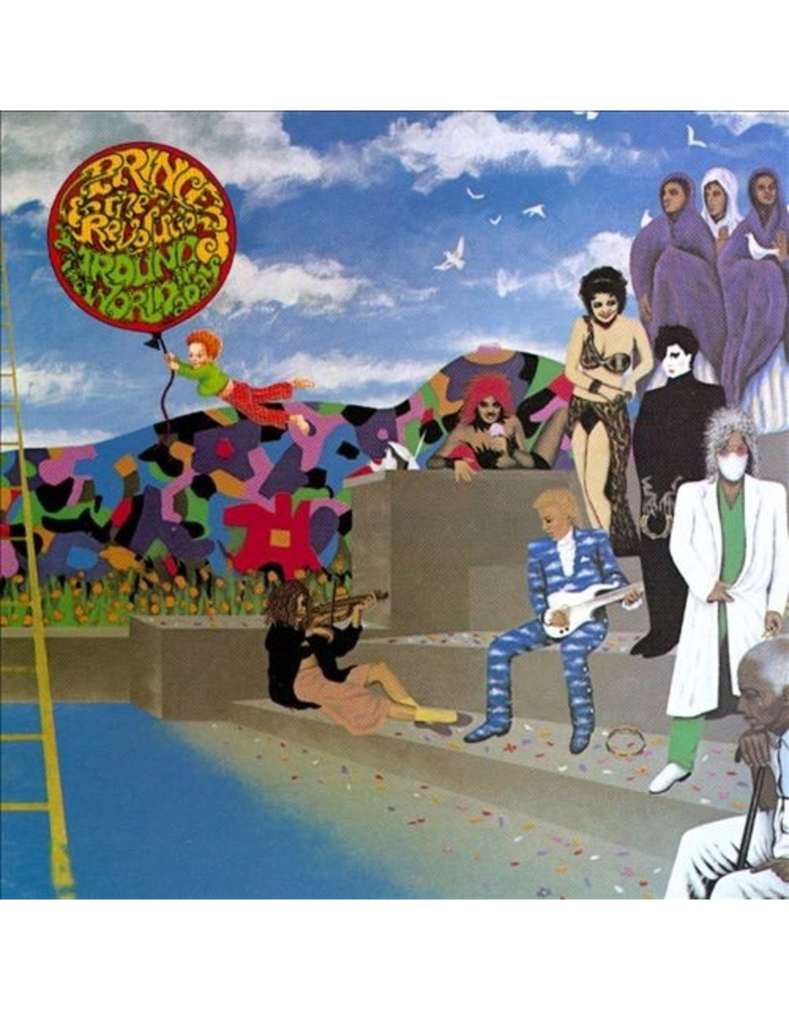 New Vinyl Prince - Around The World In A Day LP