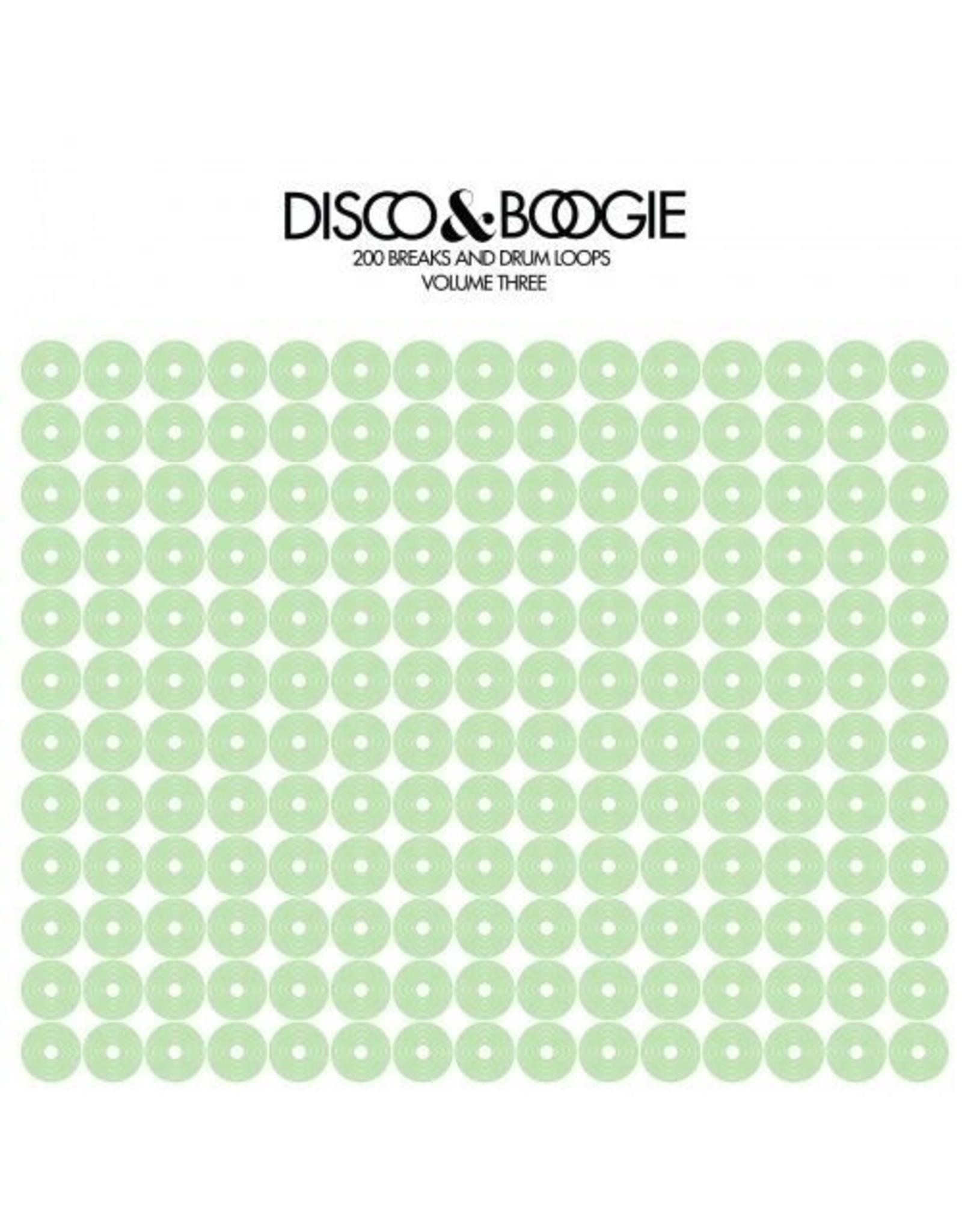 New Vinyl Disco & Boogie - 200 Breaks & Drum Loops Vol. 3 LP