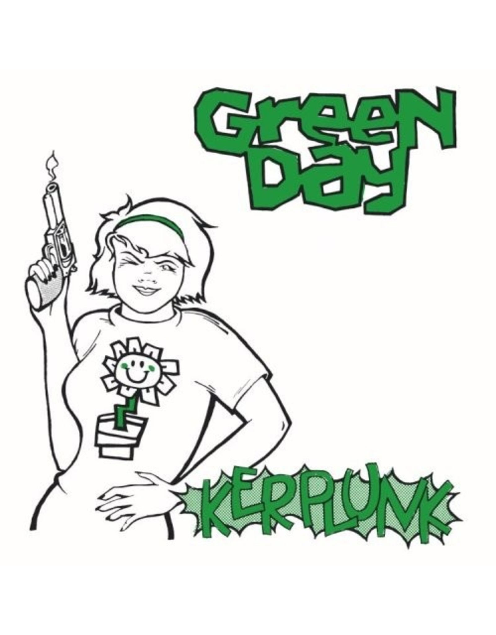 New Vinyl Green Day - Kerplunk! LP+7""