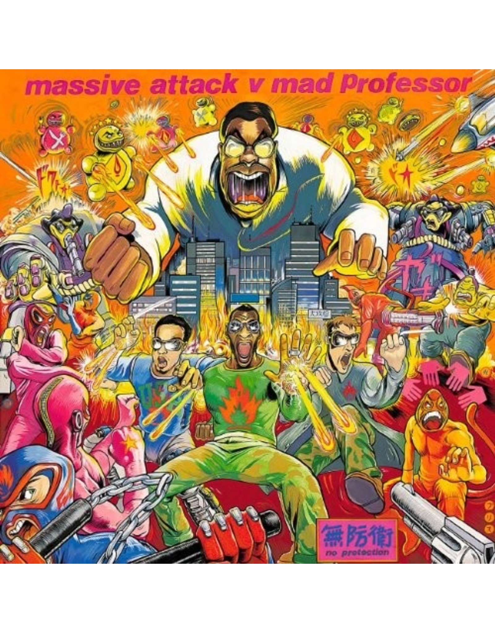 New Vinyl Massive Attack Vs. Mad Professor - No Protection LP