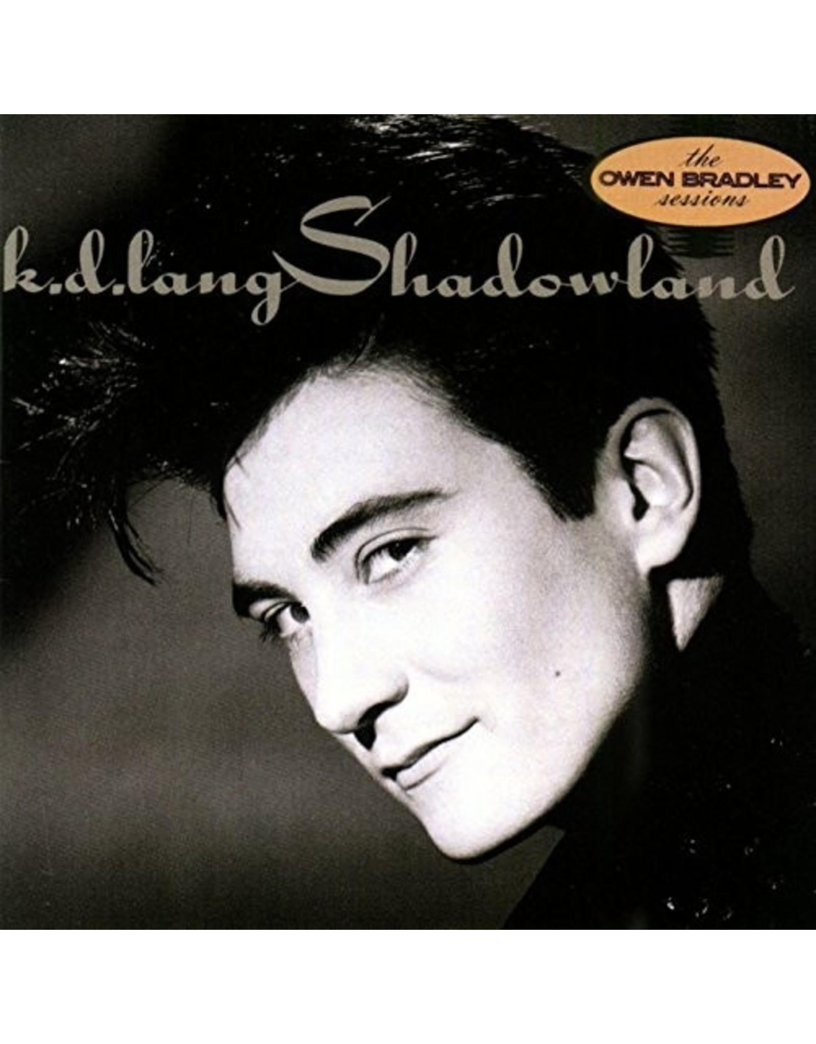 New Vinyl K.D. Lang - Shadowland LP