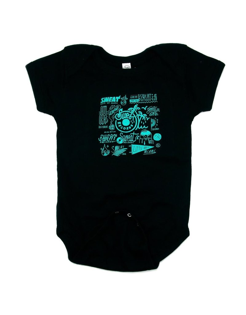 "Shirt Sweat x Brian Butler ""Logo Sheet"" Baby Onesie"