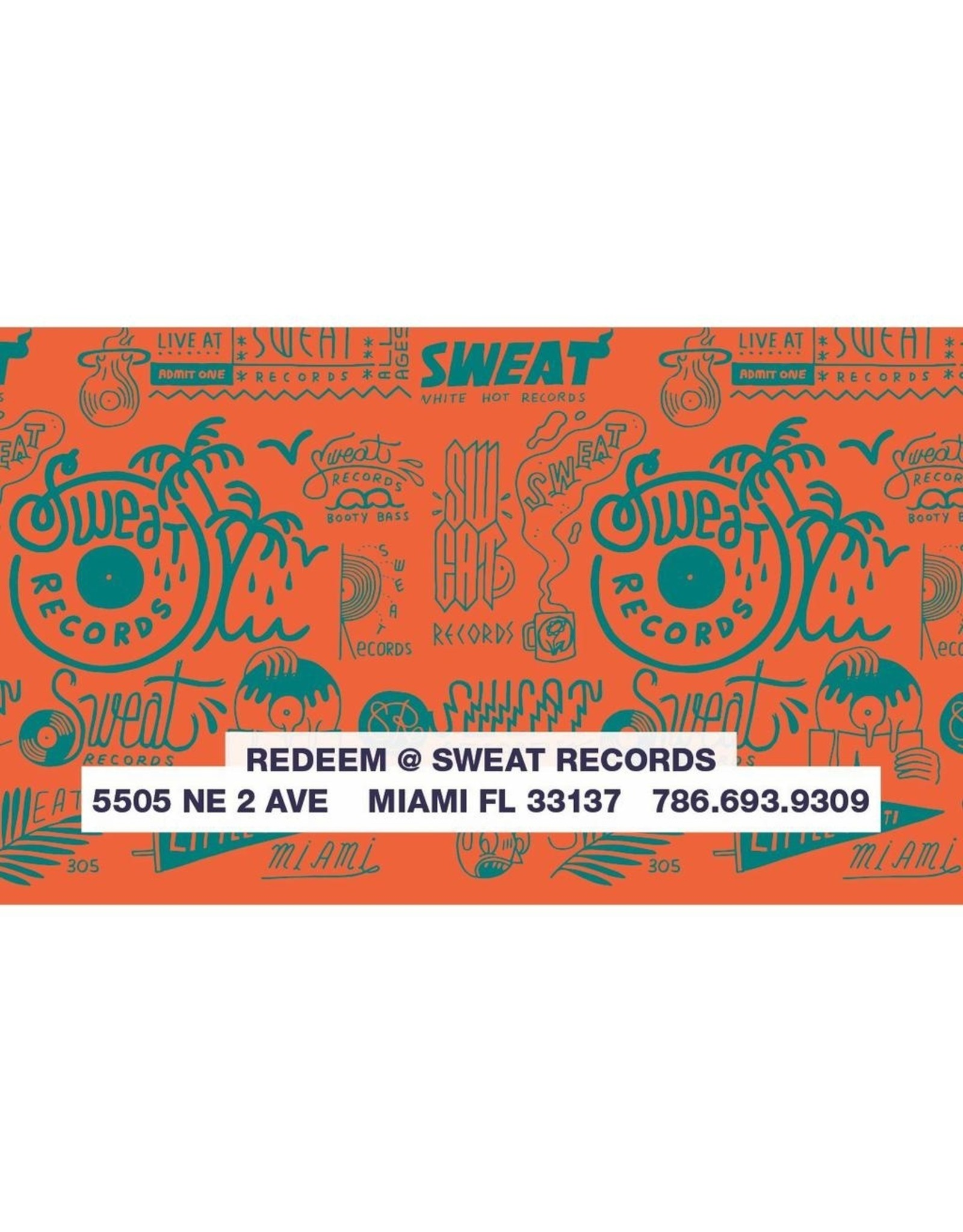 Gift Card $25 Sweat Records In-Store Gift Card