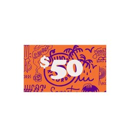 Gift Card $50 Sweat Records In-Store Gift Card