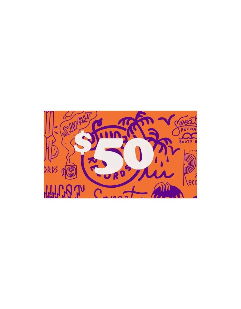 Gift Card $50 Sweat Records Gift Card