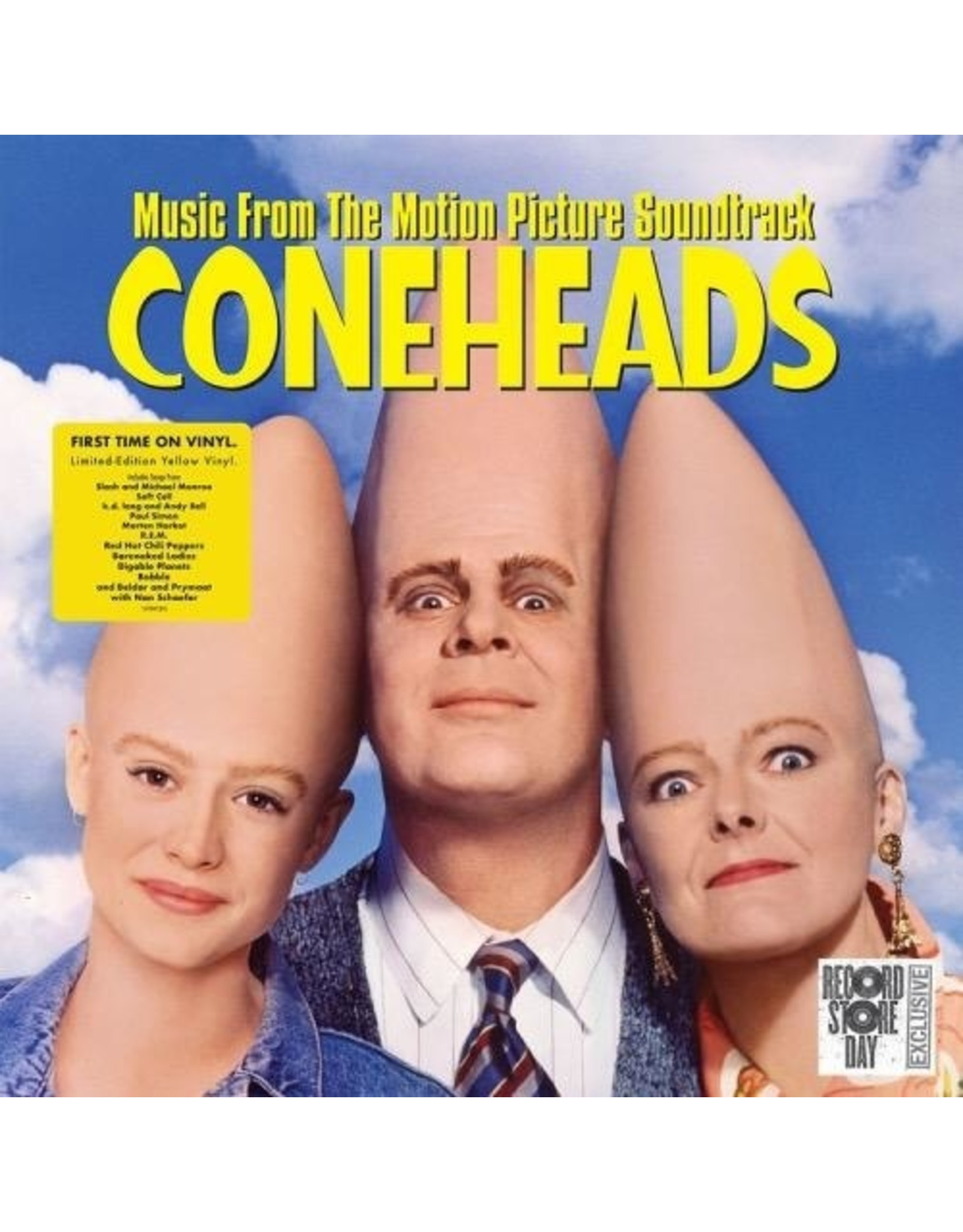 New Vinyl Various - Coneheads OST LP