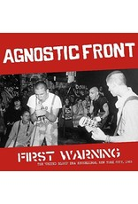 New Vinyl Agnostic Front - First Warning LP