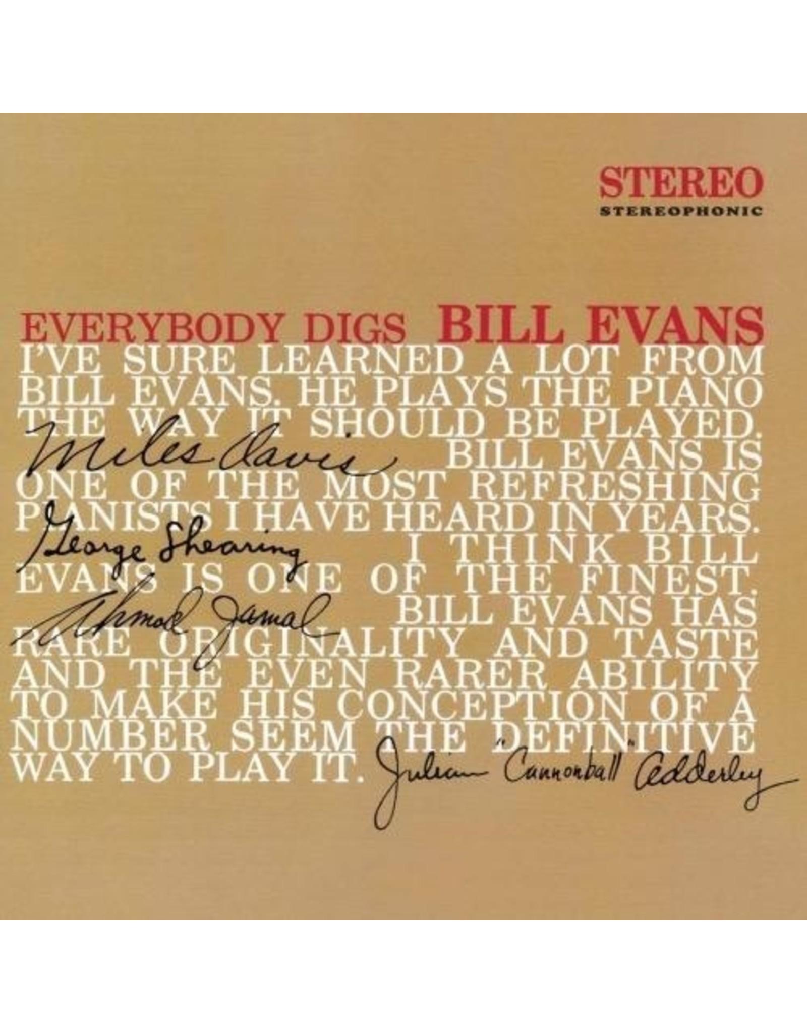 New Vinyl Bill Evans - Everybody Digs Bill Evans LP