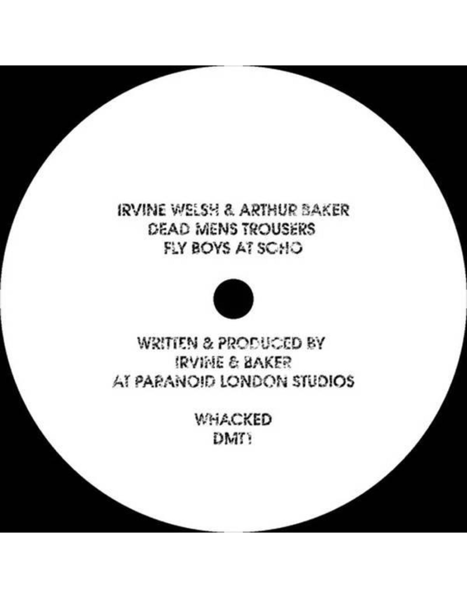 """New Vinyl Irvine Welsh & Arthur Baker - Dead Man's Trousers 12"""""""
