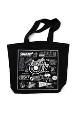 "Bag or Tote Sweat x Brian Butler ""Logo Sheet"" Tote"