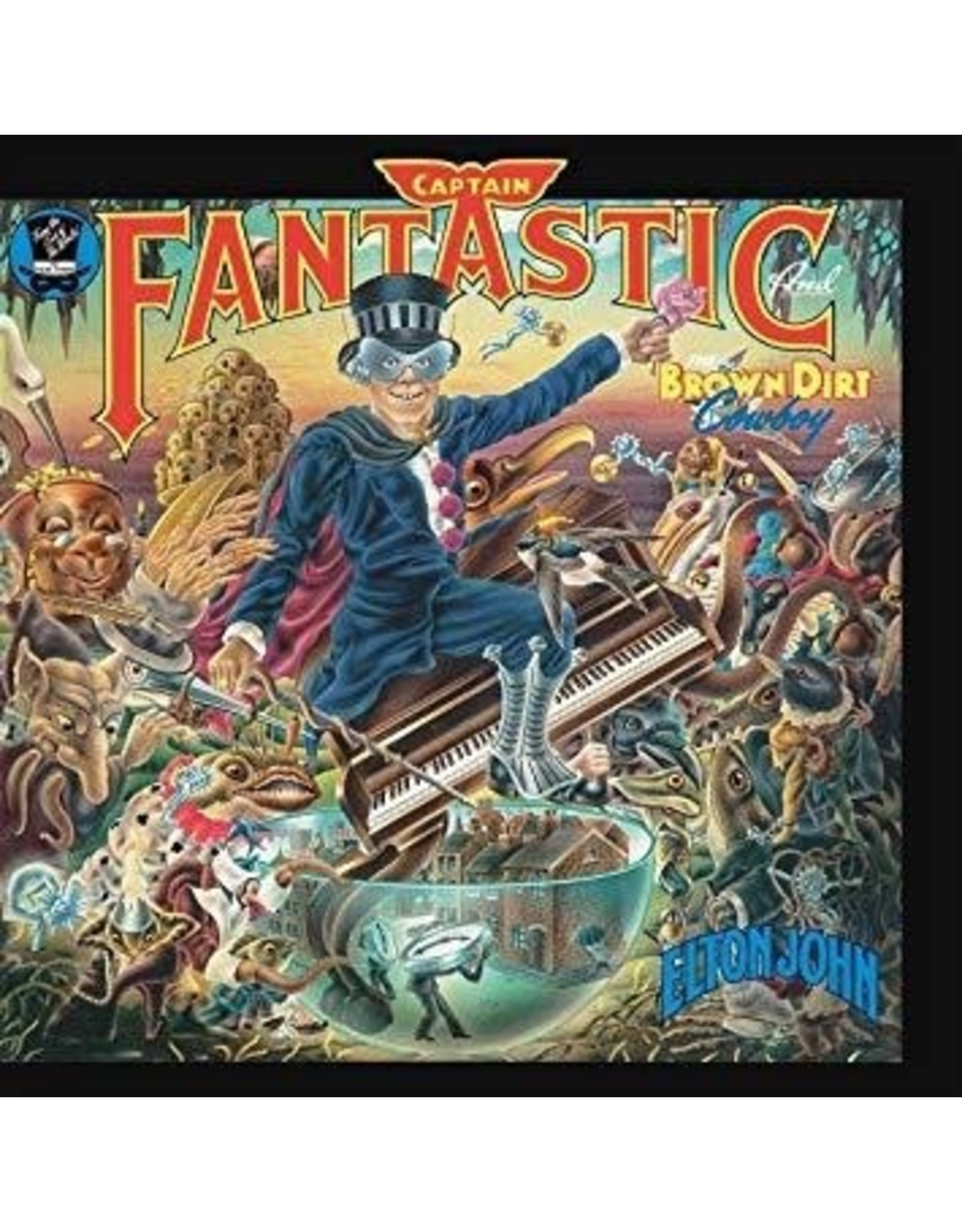 New Vinyl Elton John - Captain Fantastic And The Brown Dirt Cowboy LP
