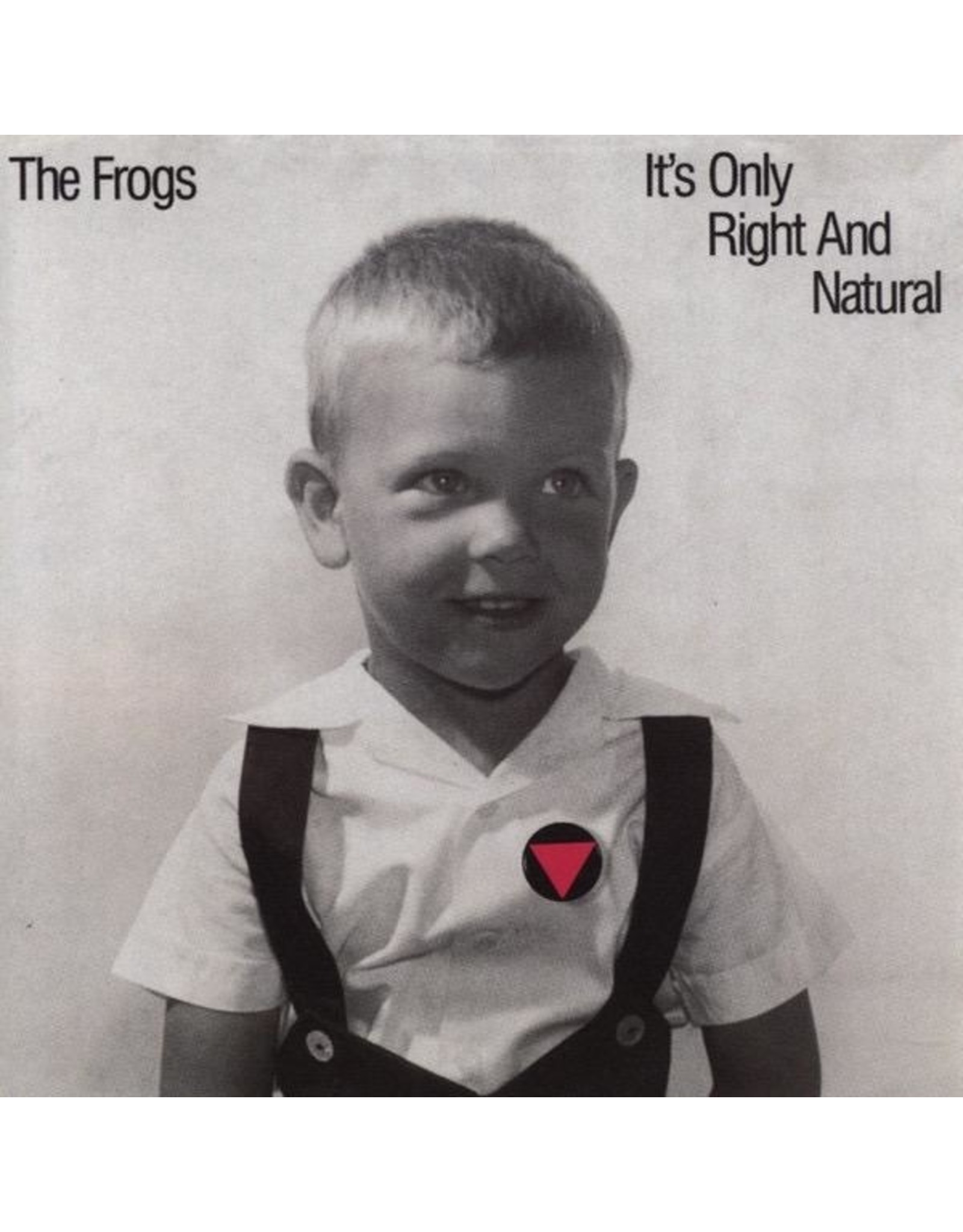 New Vinyl The Frogs - It's Only Right And Natural LP