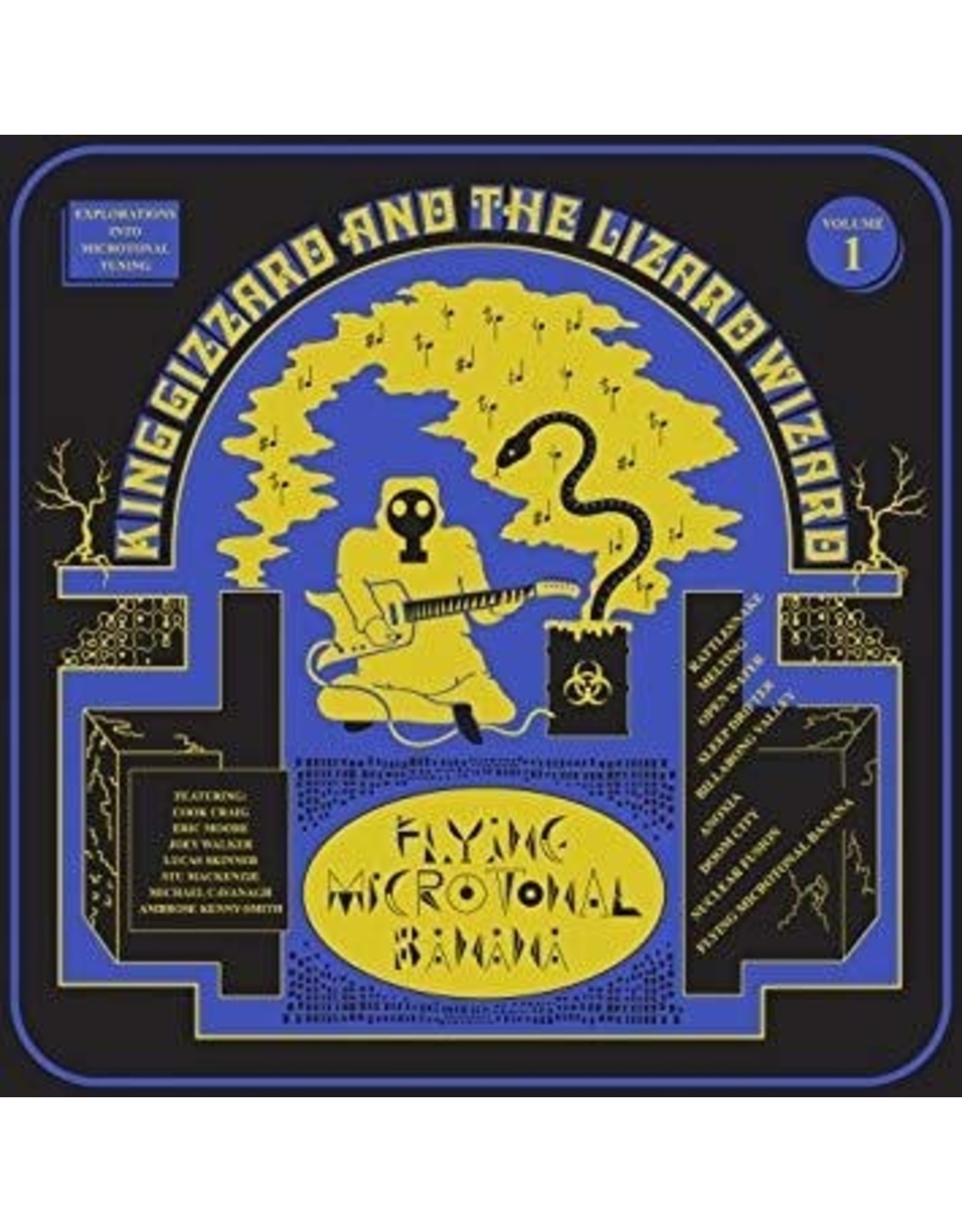 New Vinyl King Gizzard & The Lizard Wizard - Flying Microtonal Banana (Colored) LP
