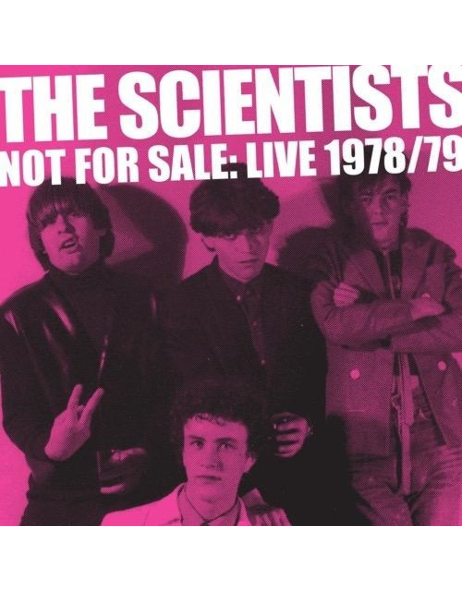 New Vinyl Scientists - Not For Sale: Live '78/'79 2LP
