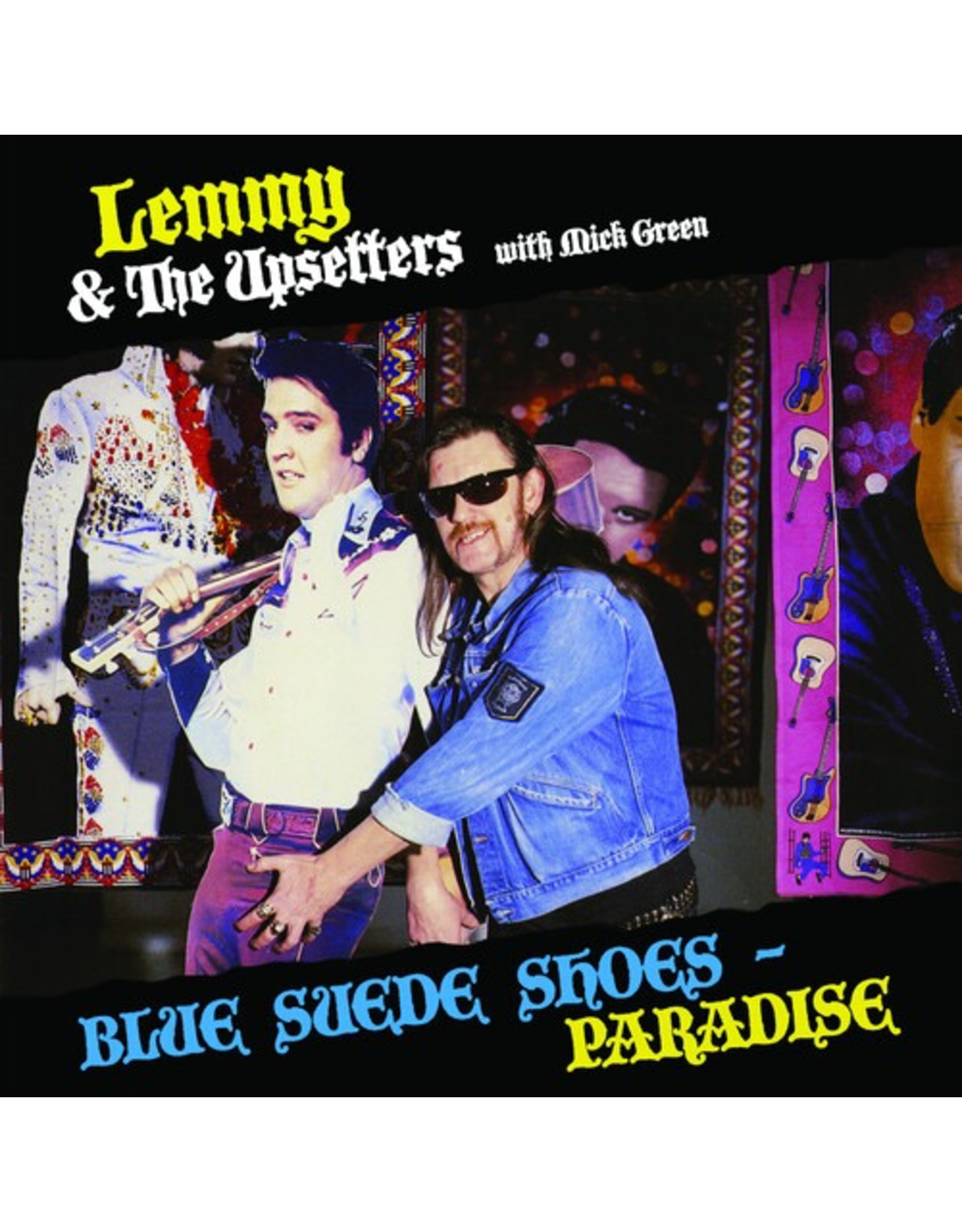 """New Vinyl Lemmy & The Upsetters With Mick Green - Blue Suede Shoes / Paradise 12"""""""