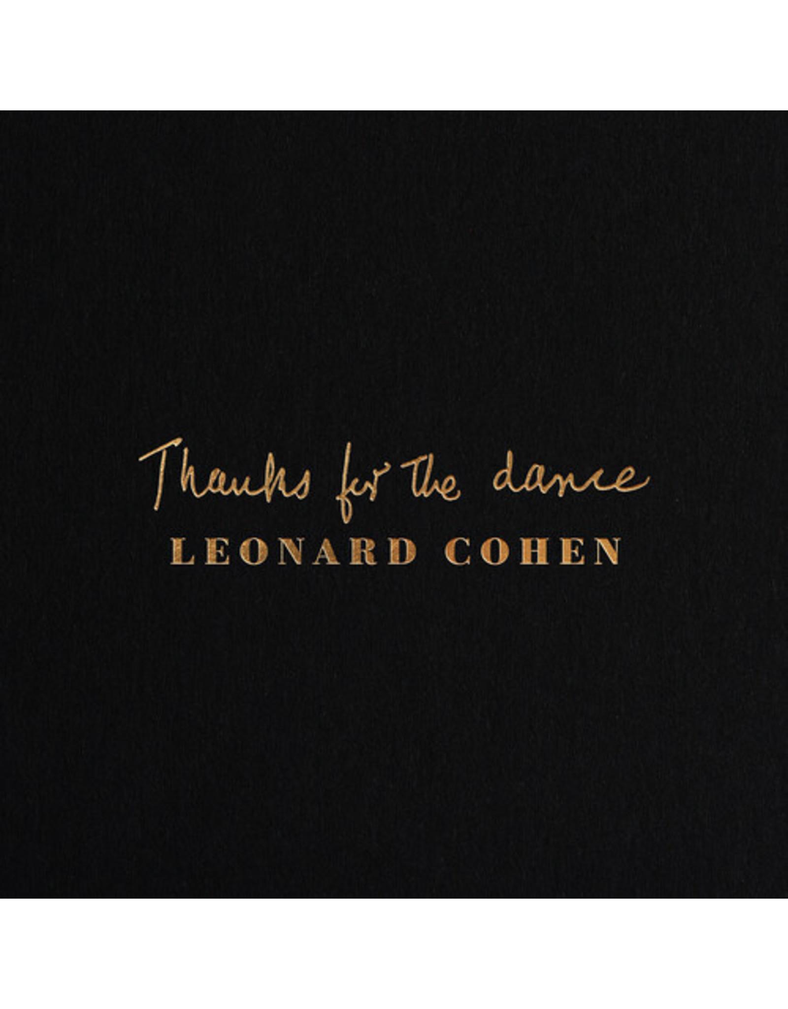 New Vinyl Leonard Cohen - Thanks For The Dance LP