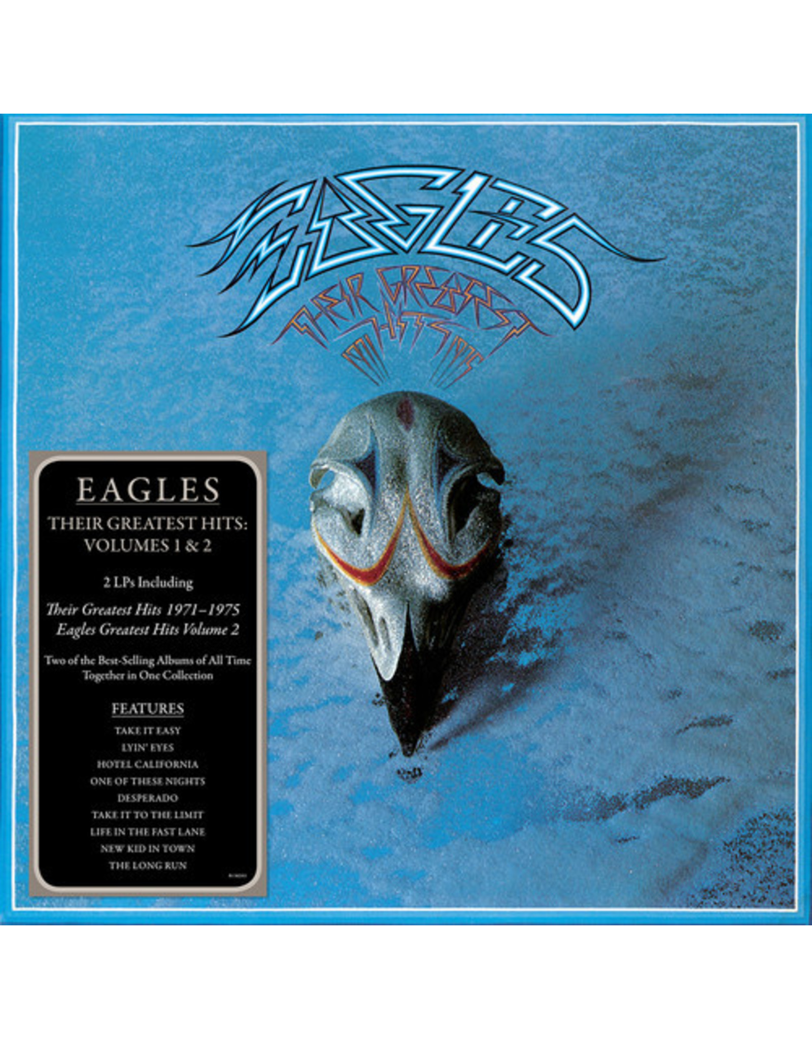 New Vinyl Eagles - Their Greatest Hits Vol. 1&2 2LP