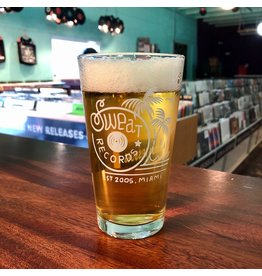 Sweat Records Pint Glass