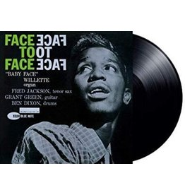 """New Vinyl """"Baby Face"""" Willette - Face To Face LP"""