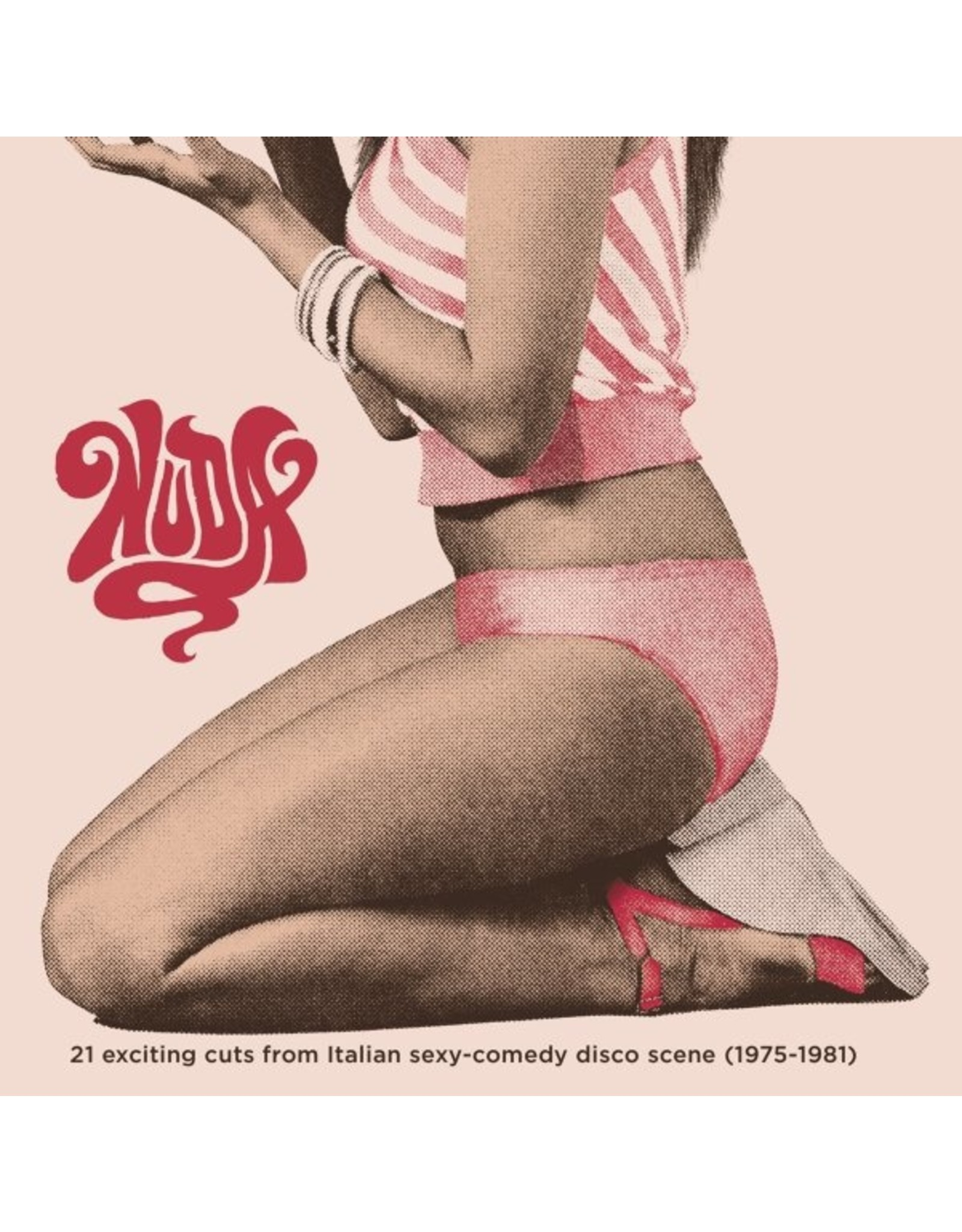 Various - NUDA: 21 Exciting Cuts From Italian Sexy-Comedy Disco Scene (1975-1981) 2LP