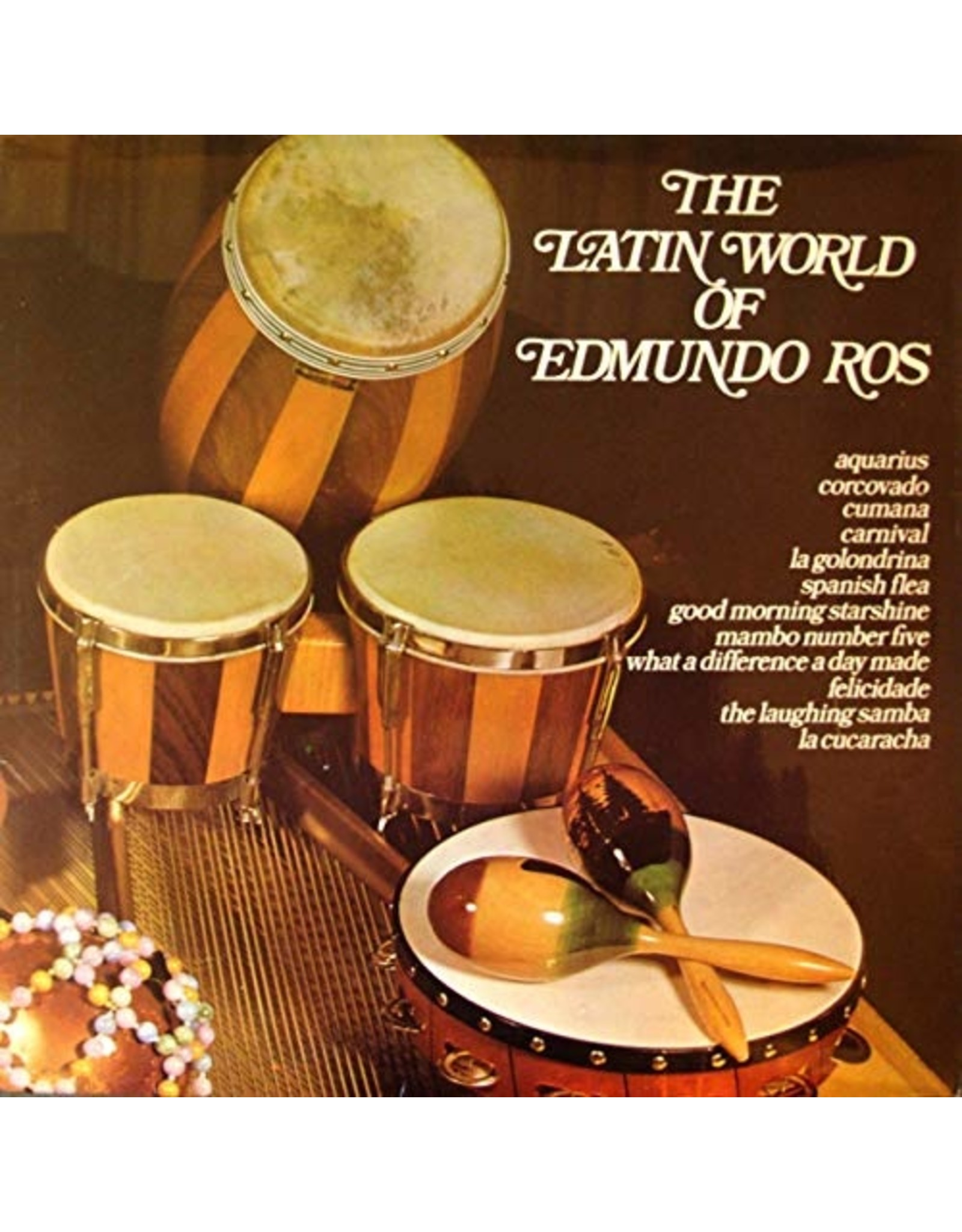 Edmundo Ros - The Latin World Of Edmundo Ros LP