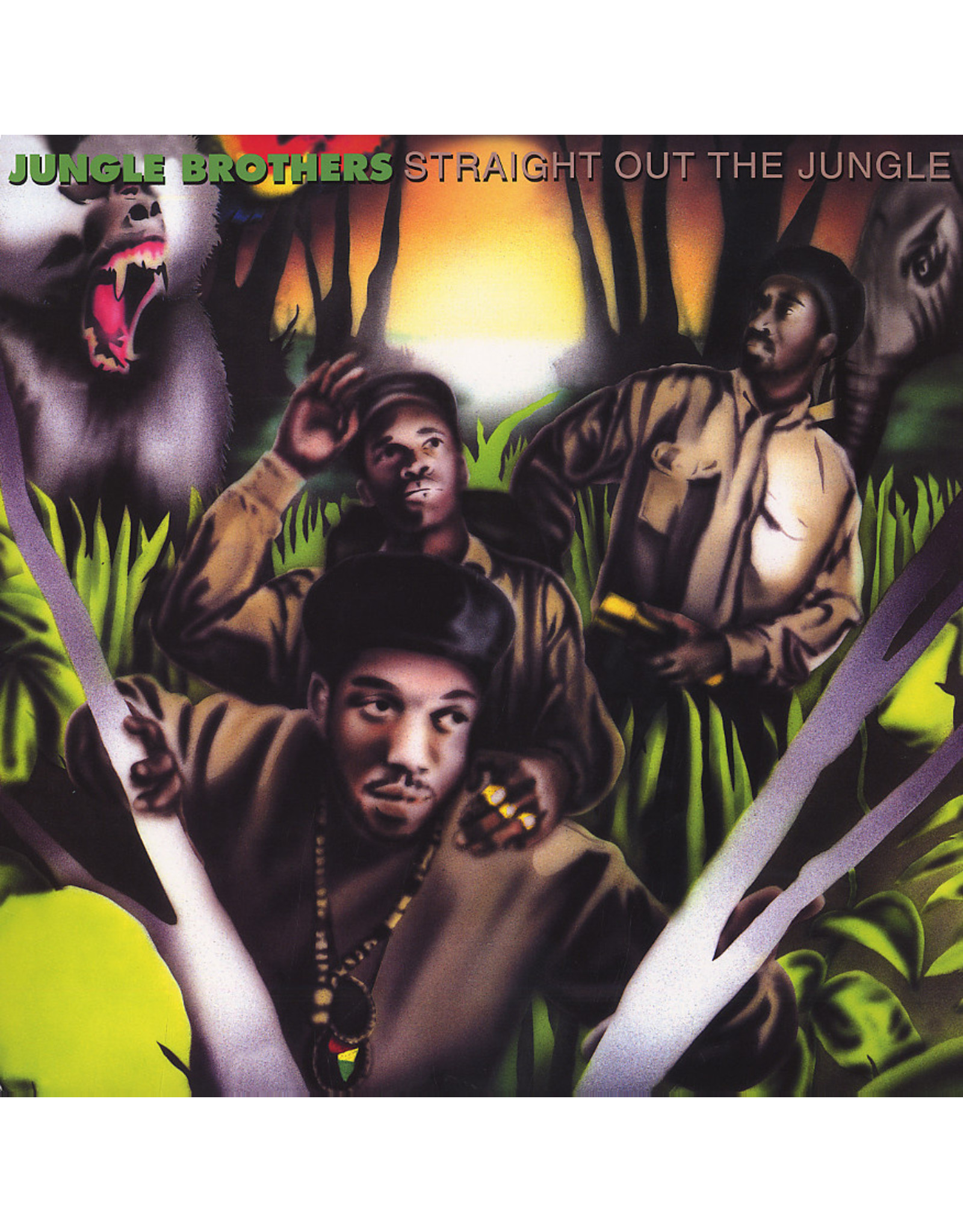 New Vinyl Jungle Brothers - Straight Out The Jungle 2LP