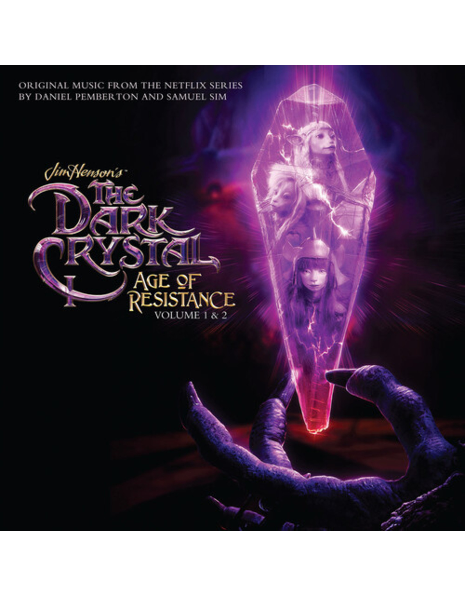 Daniel Pemberton & Samuel Sim - Dark Crystal: Age Of Resistance Volume 1&2 OST 2LP