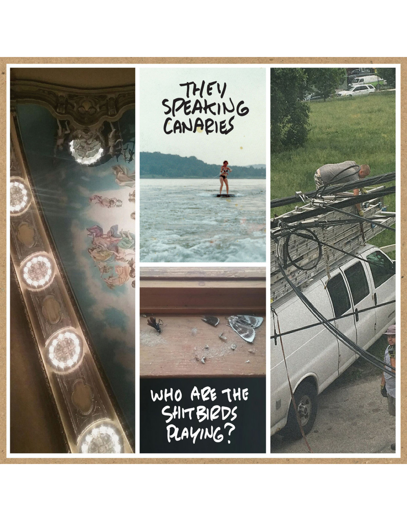 Thee Speaking Canaries - Who Are The Shitbirds Playing? LP