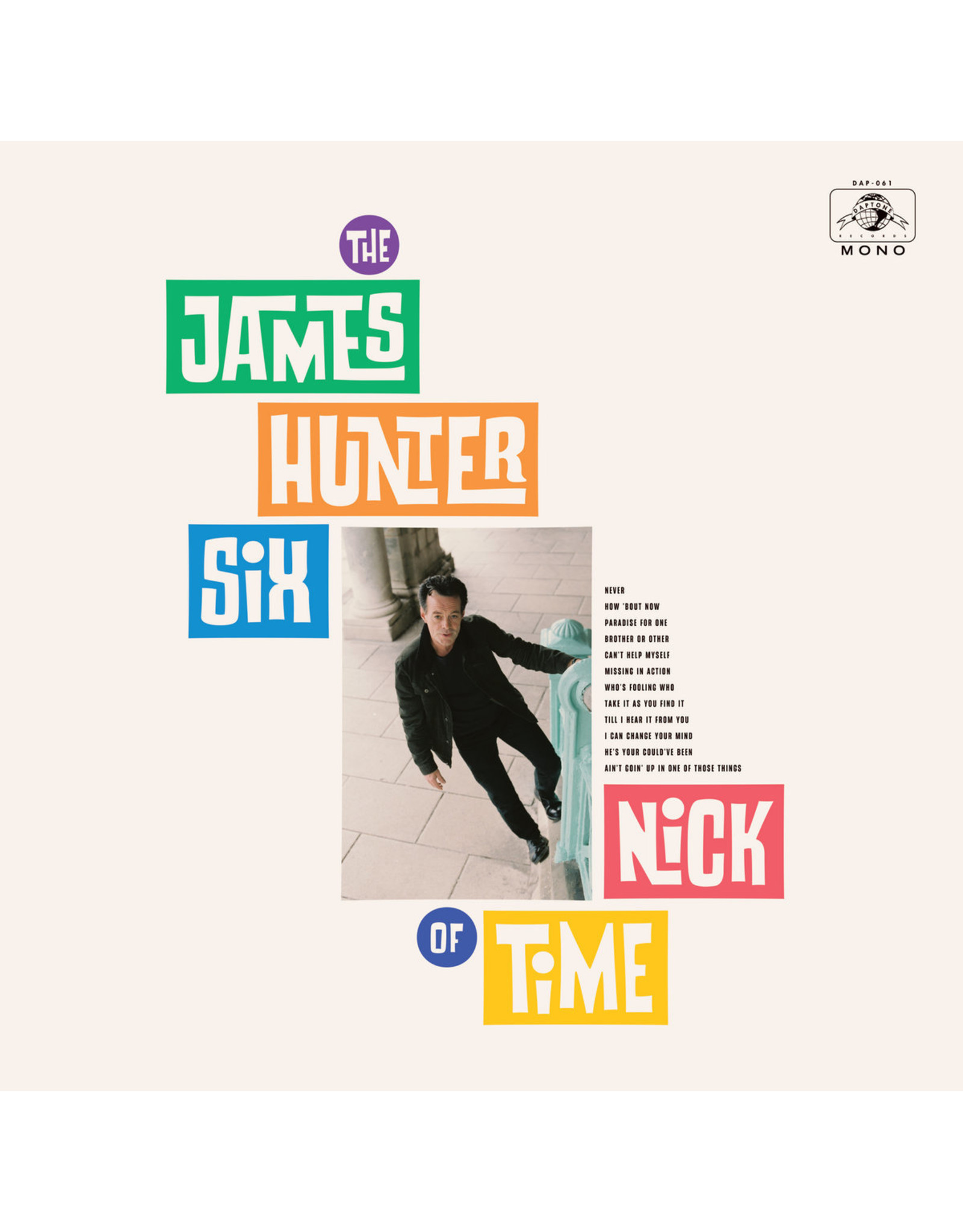 New Vinyl The James Hunter Six - Nick Of Time (Colored) LP
