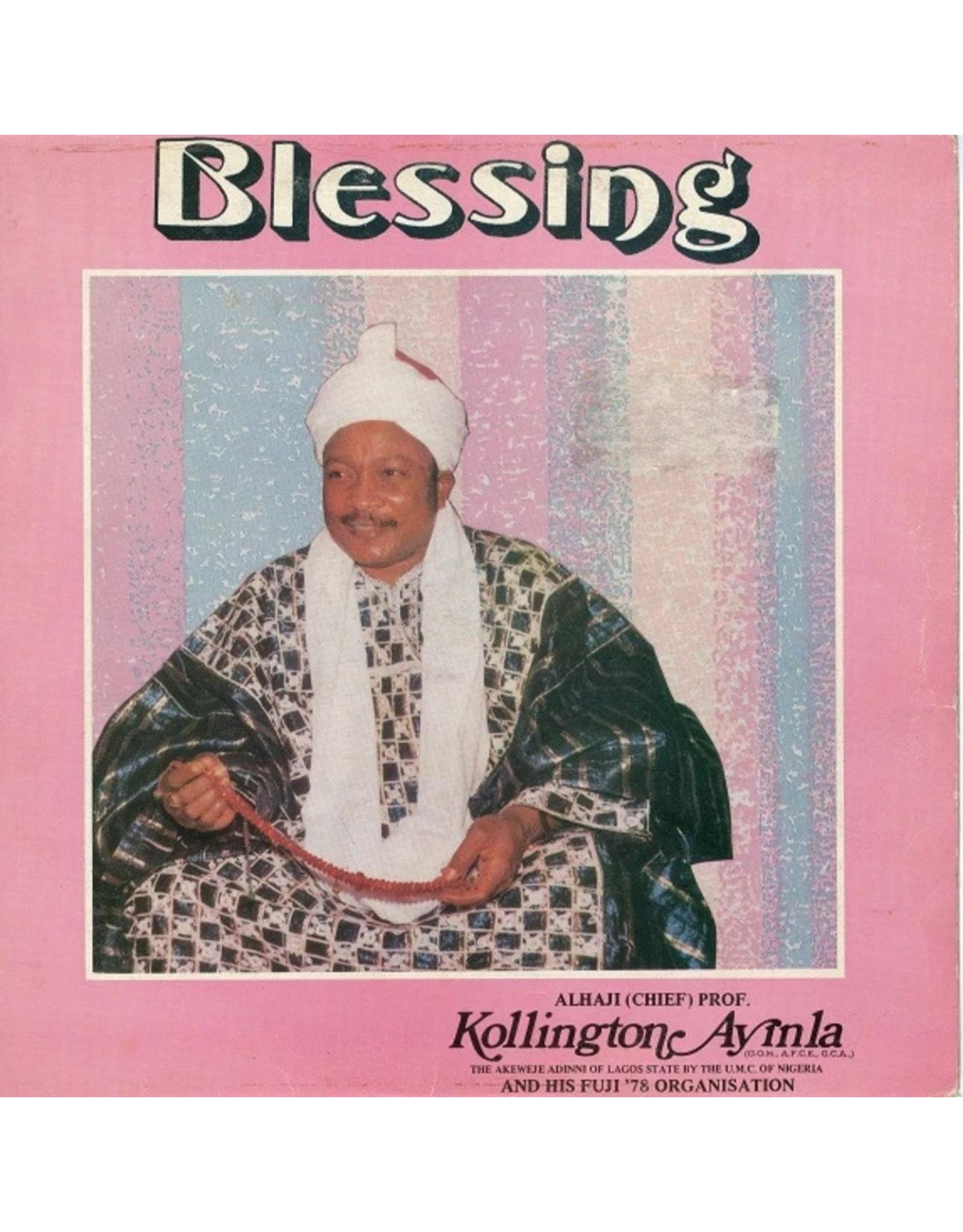 Kollington Ayinla & His Fuji '78 Organisation - Blessing LP