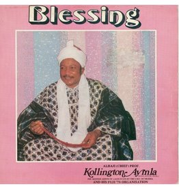 Kollington Ayinla & His Fuji '78 Organisation - Blessing LP