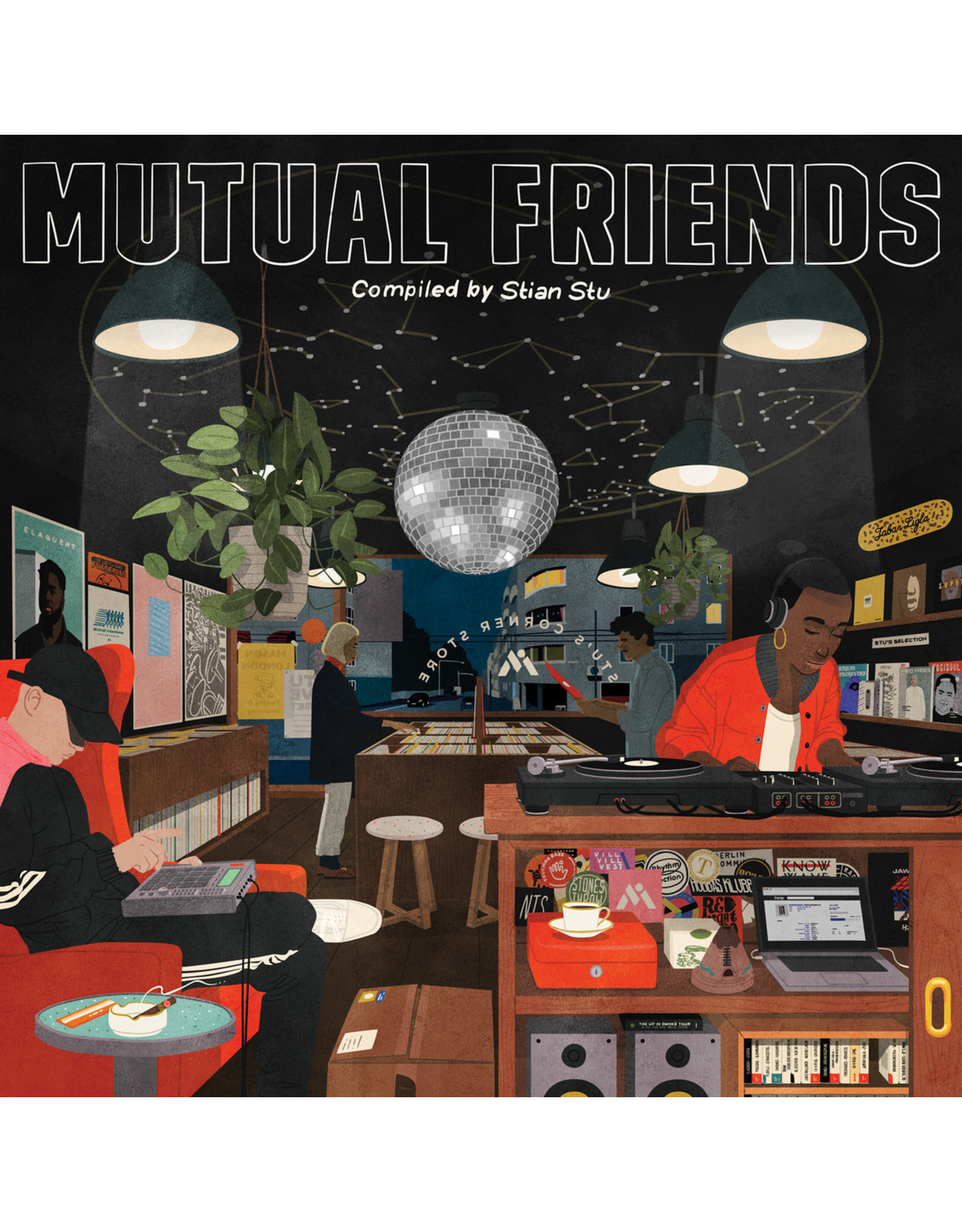 Various - Mutual Friends (Compiled By Stian Stu) LP