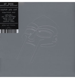 New Vinyl MF Doom - Operation Doomsday (Silver Cover) 2LP