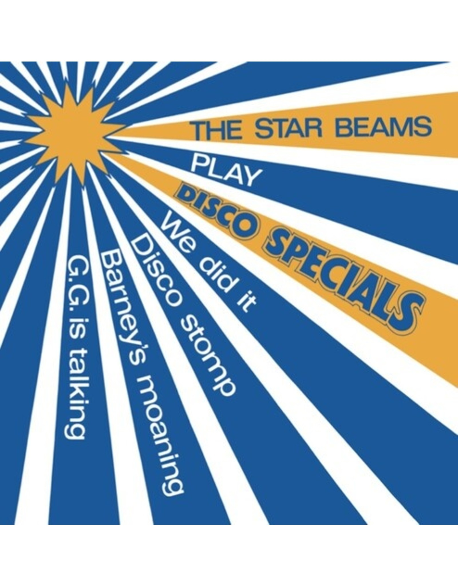 The Star Beams - Play Disco Specials LP