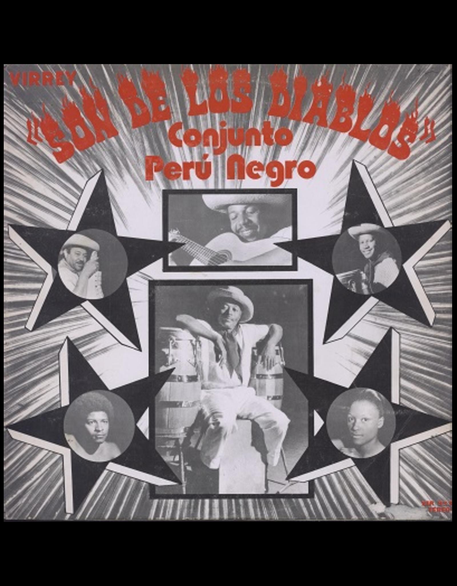 New Vinyl Conjunto Peru Negro - Son De Los Diablos LP