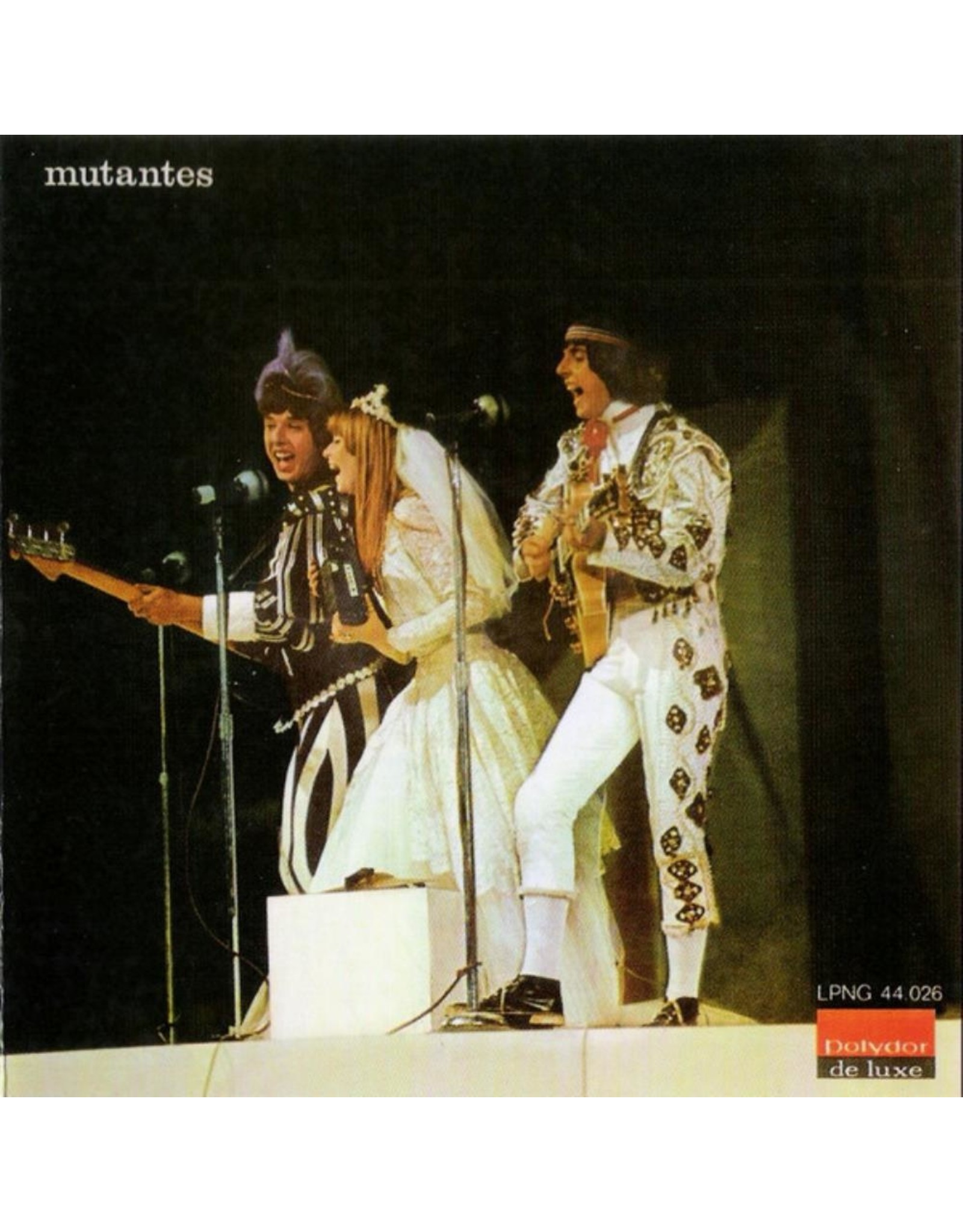 New Vinyl Os Mutantes - Mutantes (180g, Colored) LP