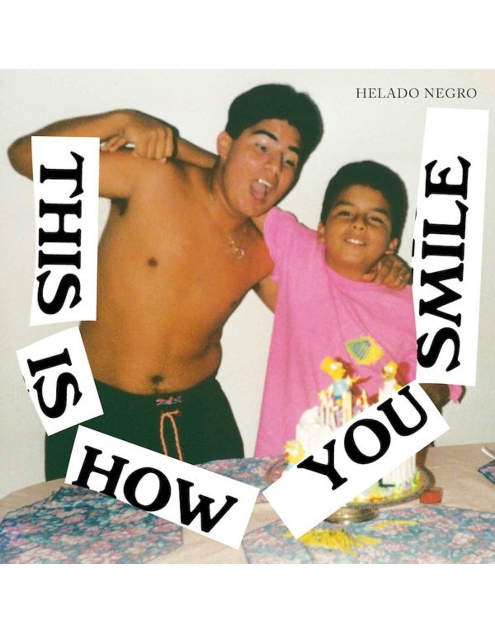 New Vinyl Helado Negro - This Is How You Smile LP