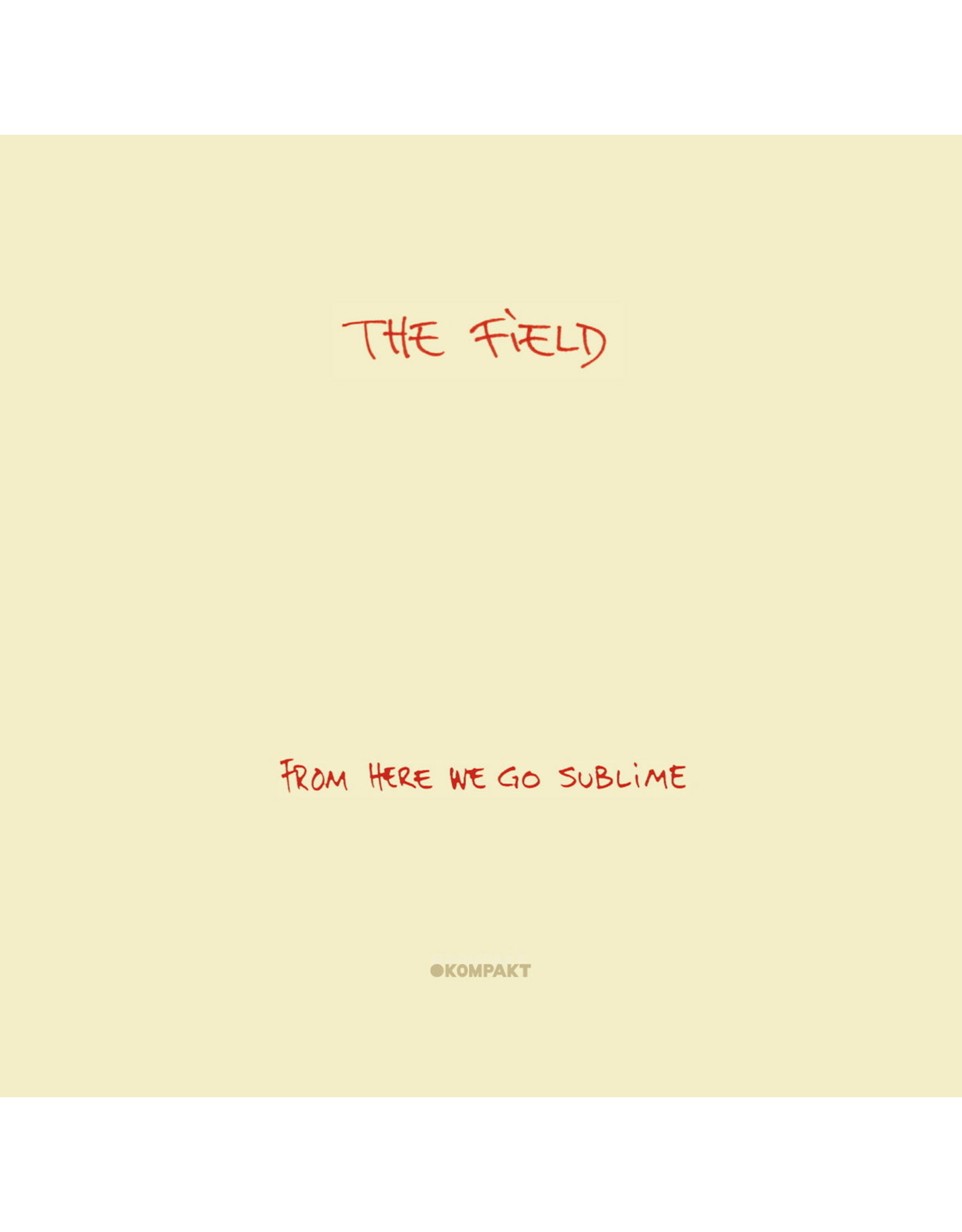 New Vinyl The Field - From Here We Go Sublime 2LP