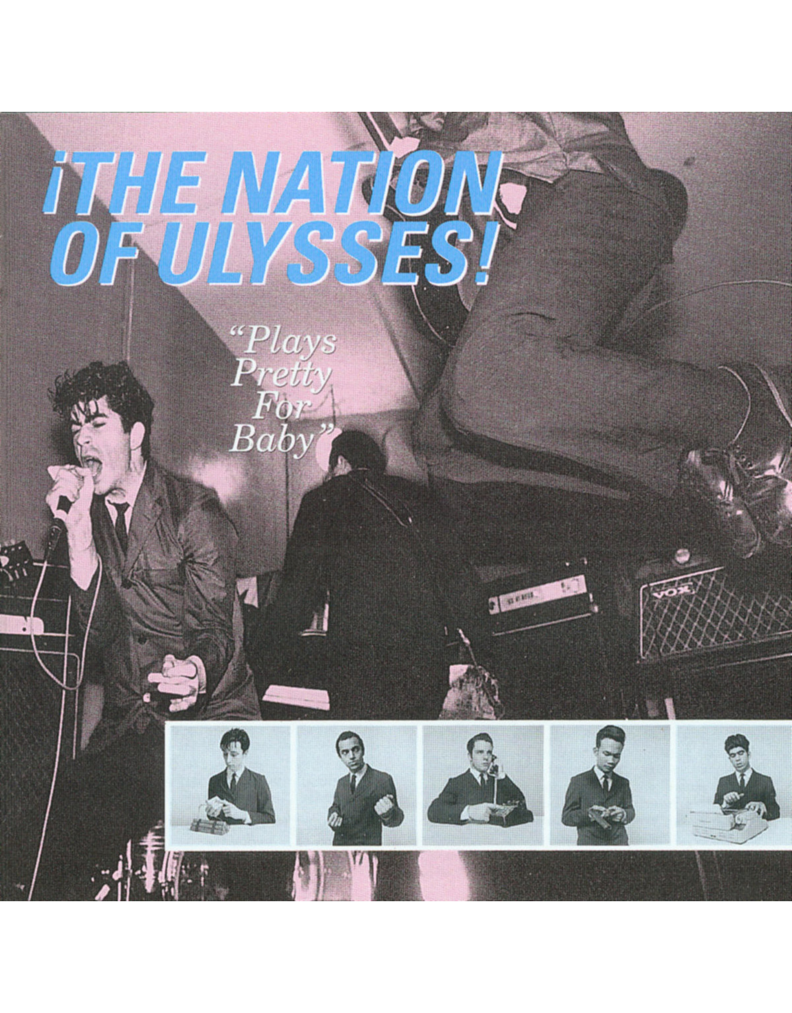 New Vinyl The Nation Of Ulysses - Plays Pretty For Baby LP