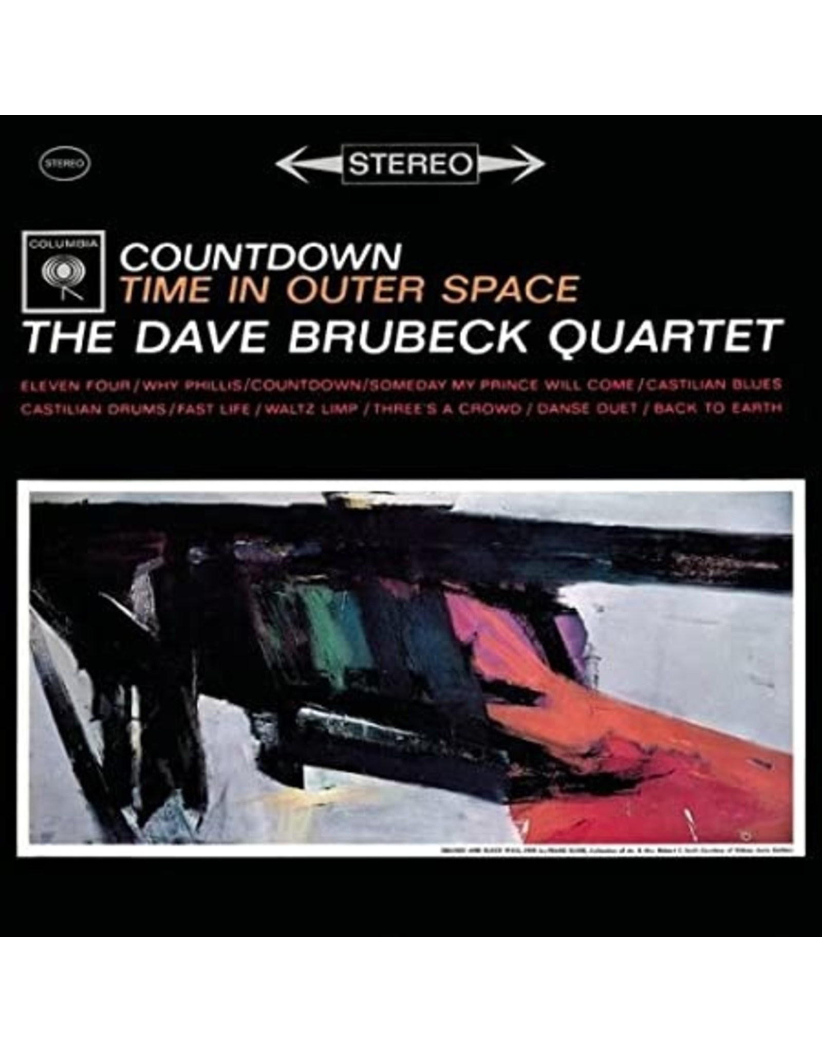 New Vinyl The Dave Brubeck Quartet - Countdown Time In Outer Space LP